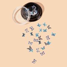 1box Butterfly Nail Art Decoration