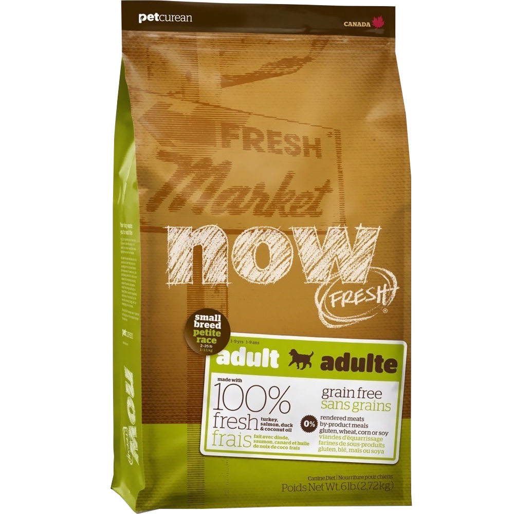 Petcurean Now Fresh Small Breed Adult Dog Food (6 lb)