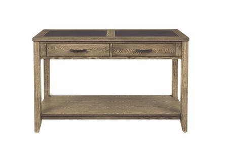 T466-05 Sun Valley Sofa/Console Table  in Weathered Driftwood and Charcoal Gray