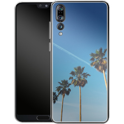 Huawei P20 Pro Silikon Handyhuelle - Palm Tree Paradise von Omid Scheybani