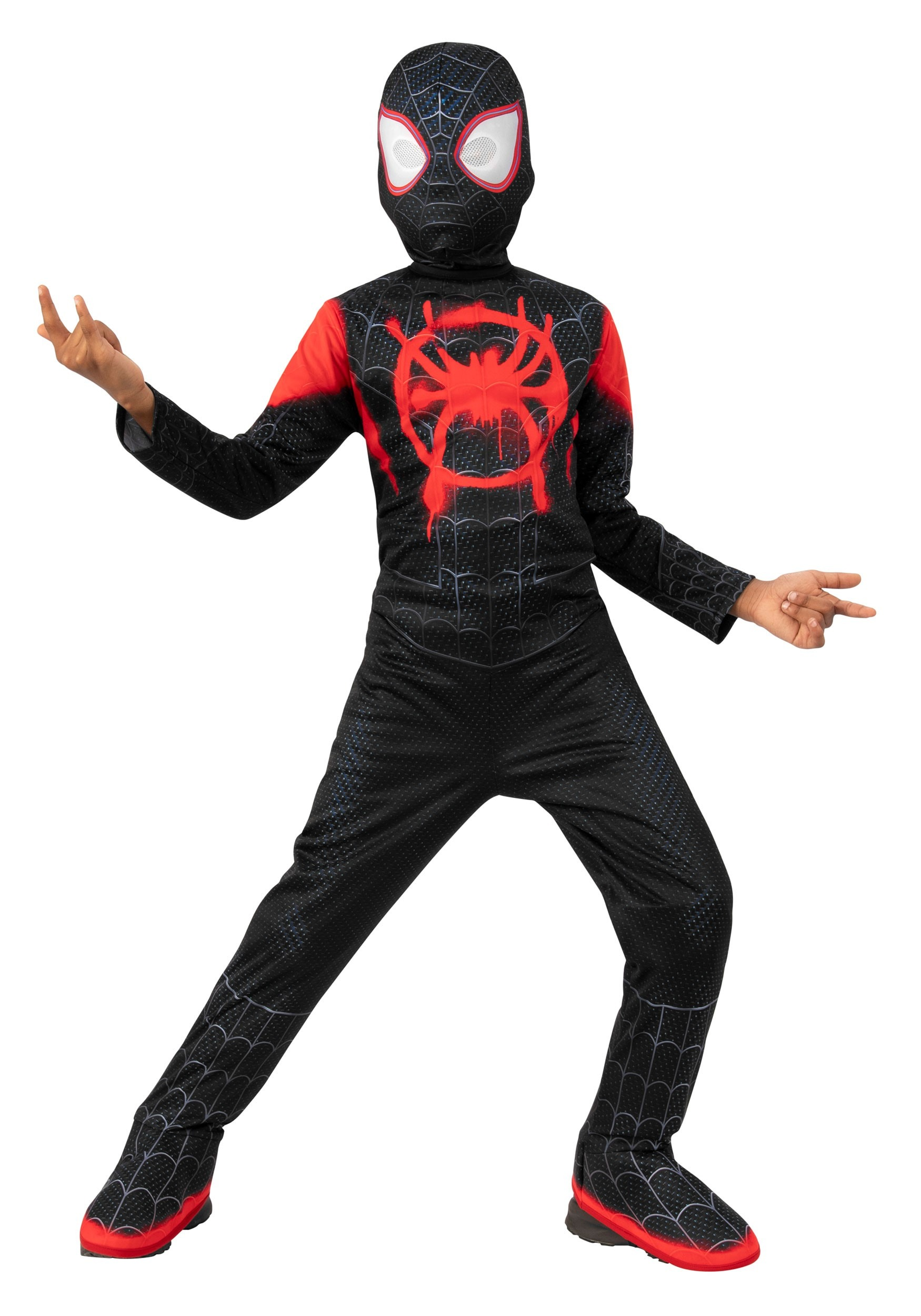 Miles Morales Into the Spider-Verse Kids Spider-Man Costume