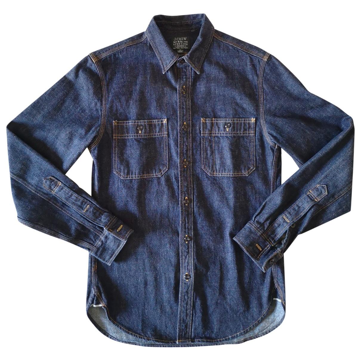 J.crew - Chemises   pour homme en denim - bleu