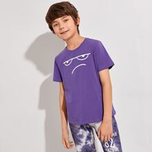 Boys Cartoon Graphic Tee