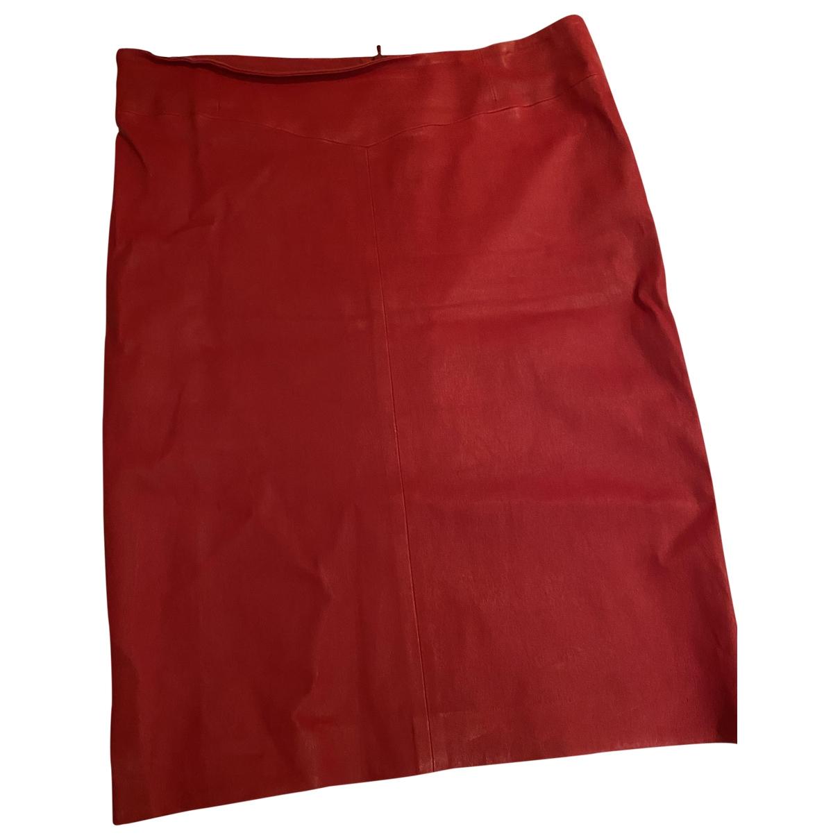 Joseph \N Rocke in  Rot Leder