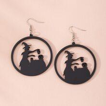 Witch Decor Drop Earrings