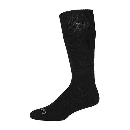 Dickies 2 Pair Crew Socks-Mens, 10-13 , Black