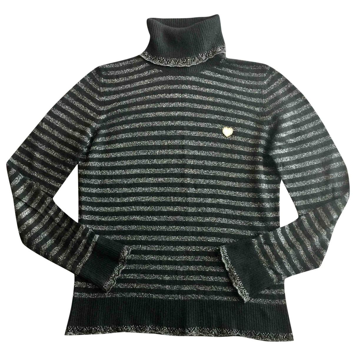 Moschino Love \N Pullover in  Schwarz Wolle