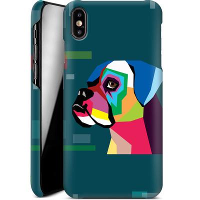 Apple iPhone XS Max Smartphone Huelle - Pop Dog von Mark Ashkenazi