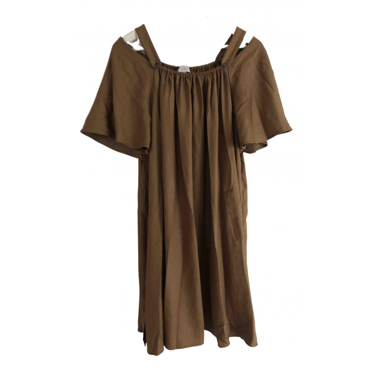Paul & Joe \N Kleid in  Braun Polyester