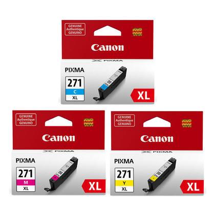 Canon PIXMA MG6822 cartouches encre couleurs c/m/y combo originales, haut rendement