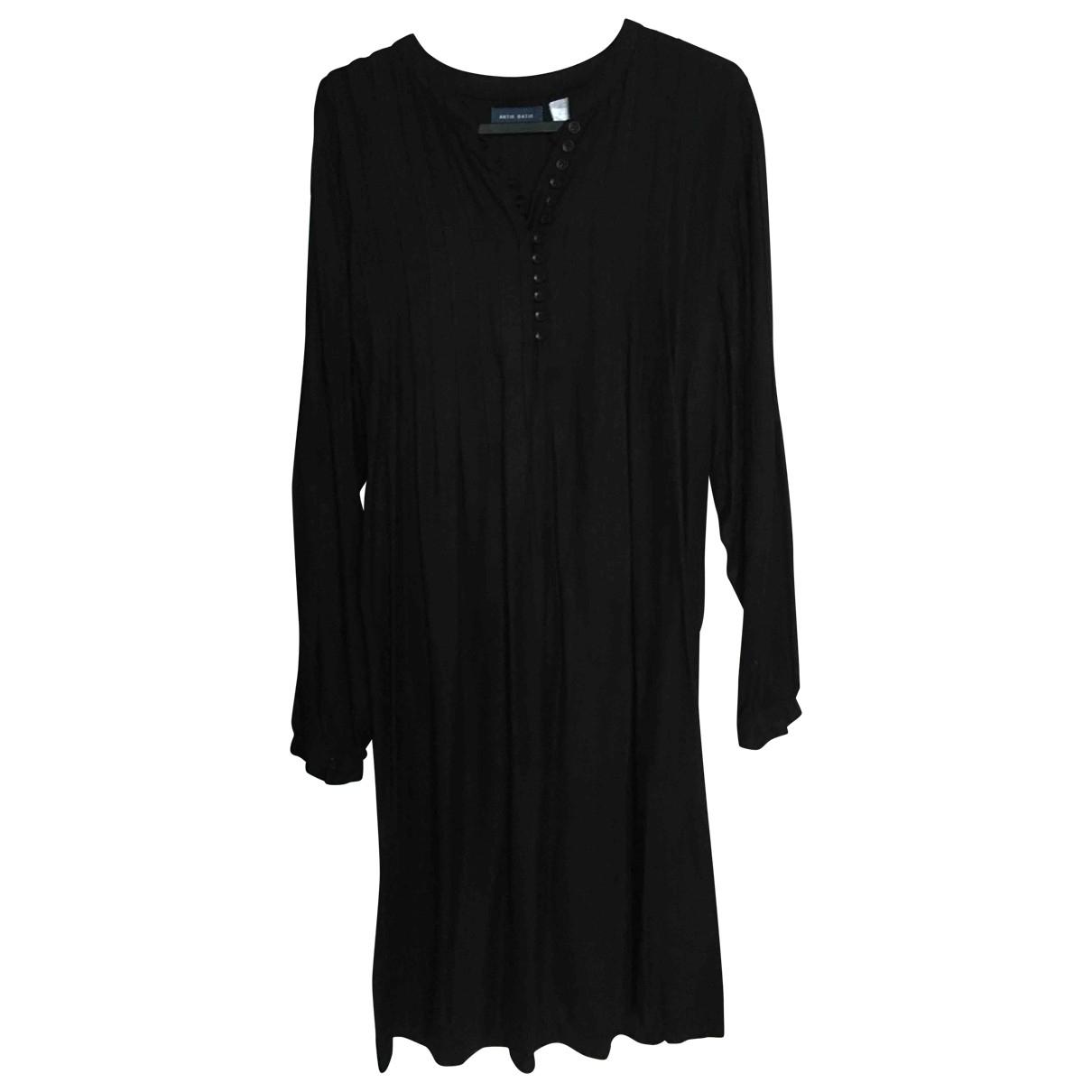 Antik Batik \N Kleid in  Schwarz Viskose