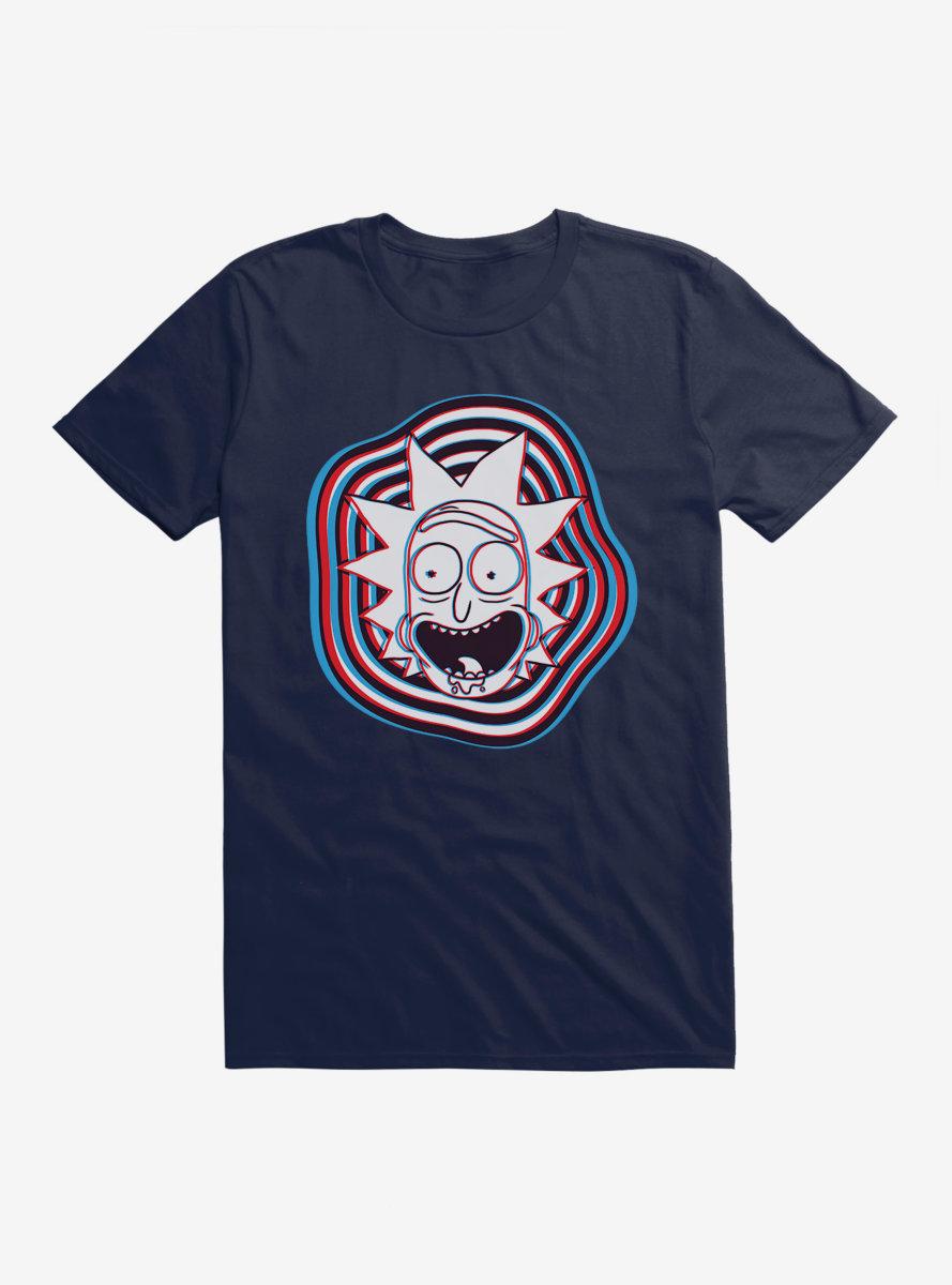 Rick And Morty 3-D Portal Rick T-Shirt
