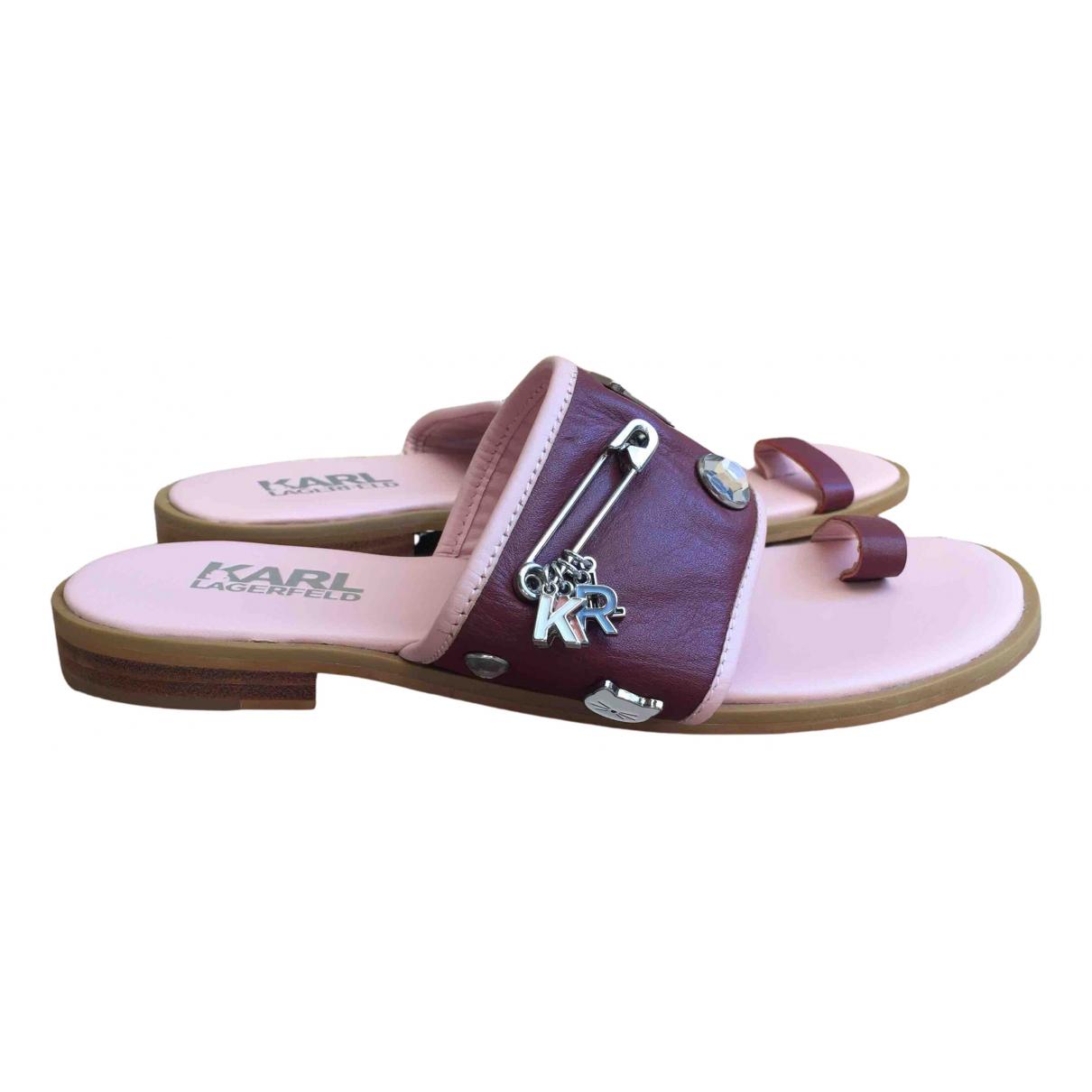 Sandalias de Cuero Karl