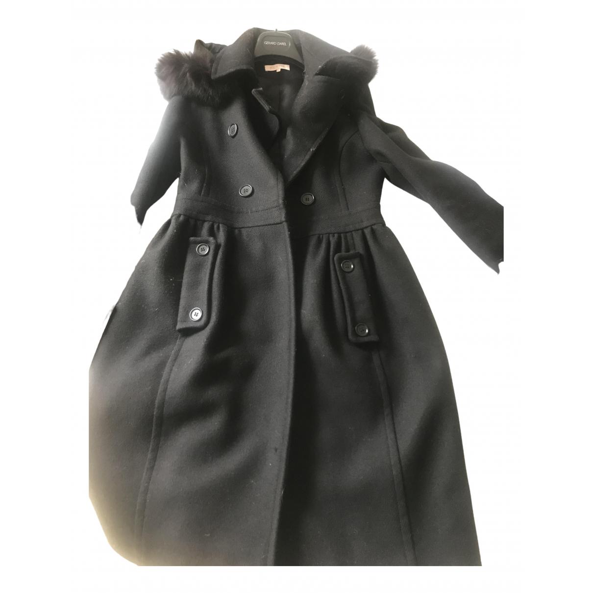 Dice Kayek - Manteau   pour femme en laine - noir