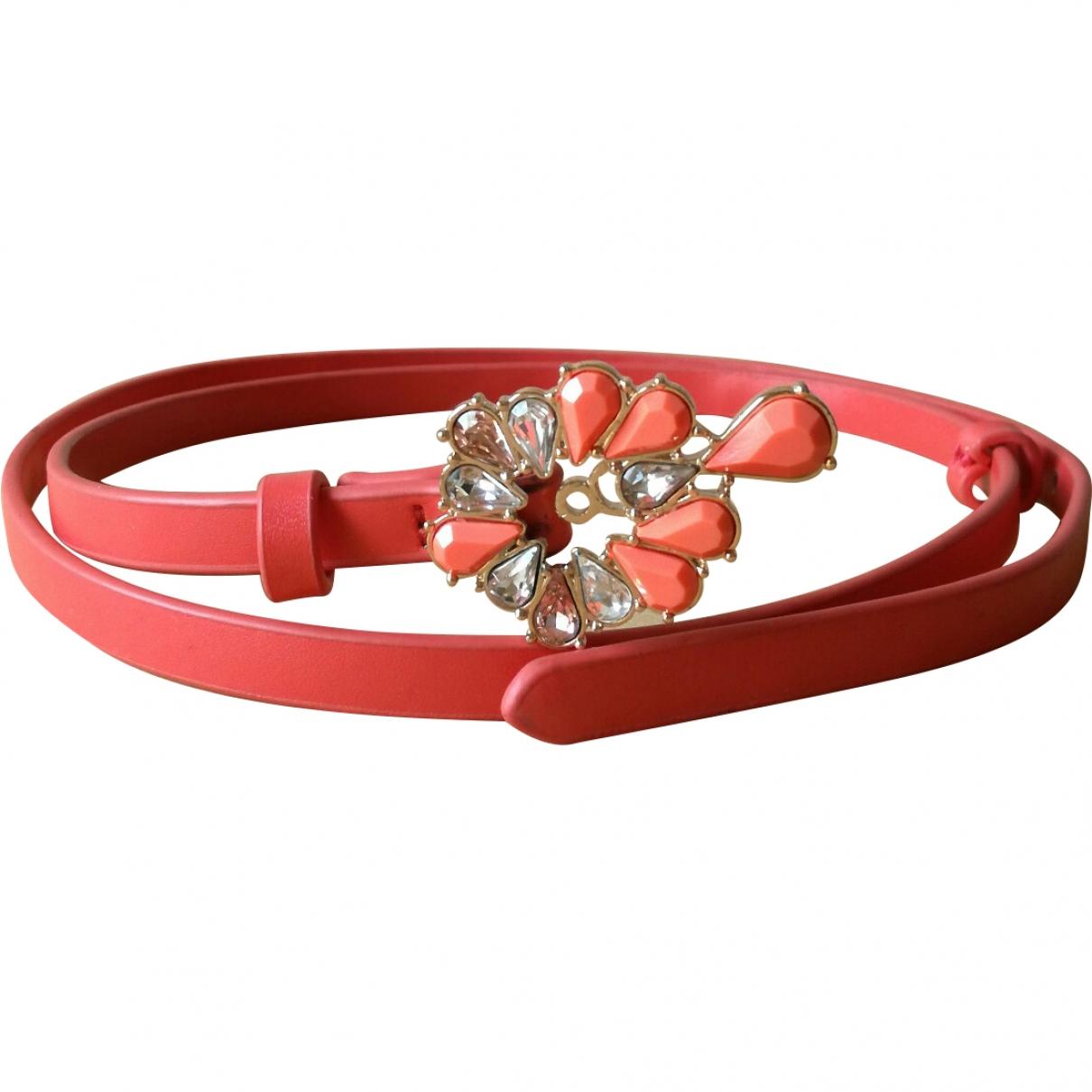 Max & Co \N Orange Leather belt for Women S International