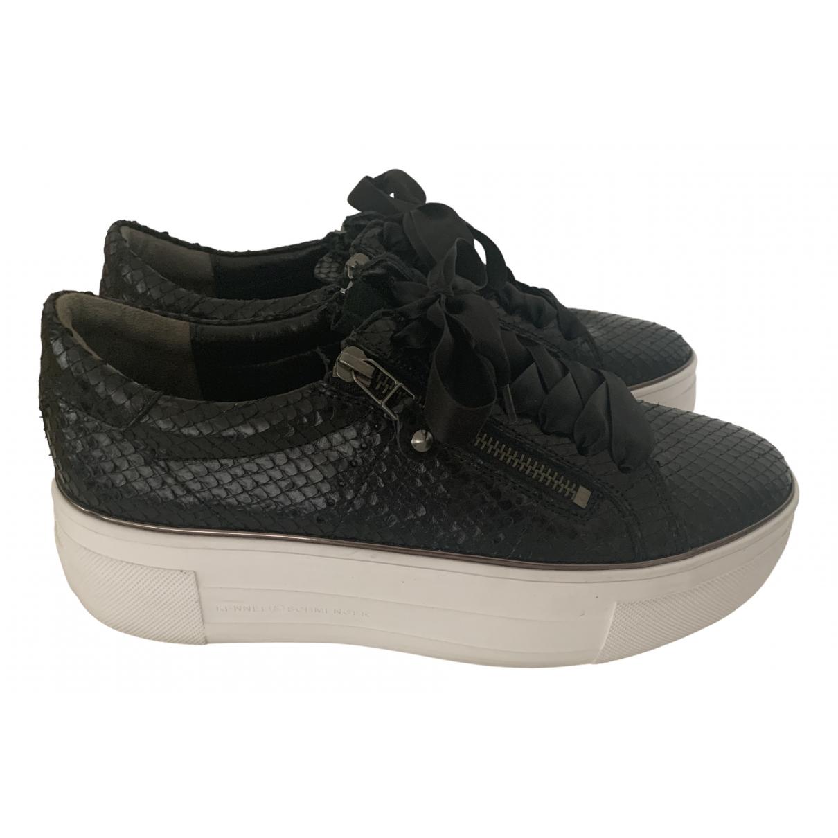 Kennel Und Schmenger \N Sneakers in  Schwarz Leder