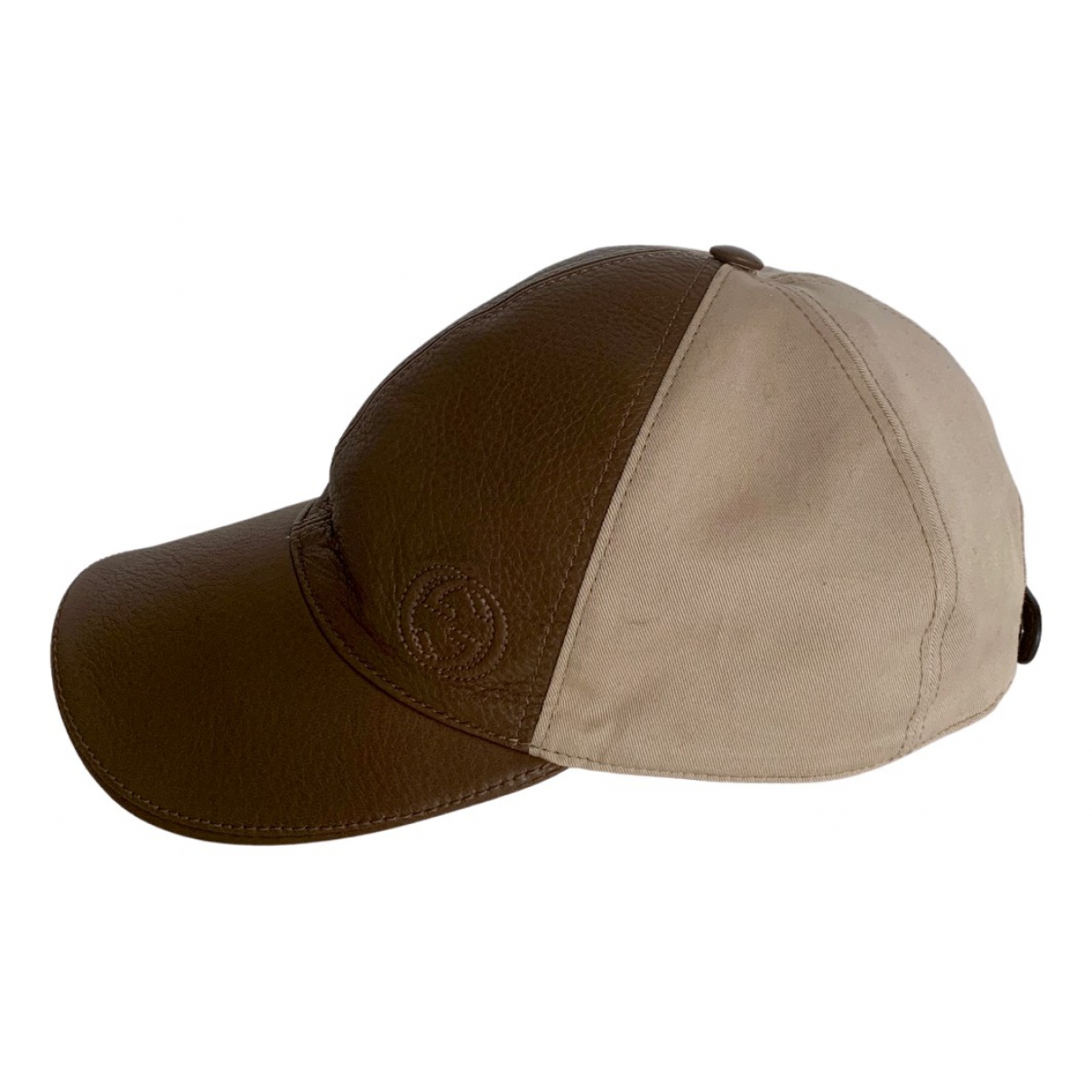 Gucci \N Brown Leather hat for Women S International