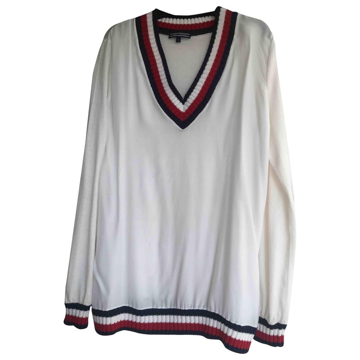 Tommy Hilfiger \N White Cotton Knitwear for Women 38 FR