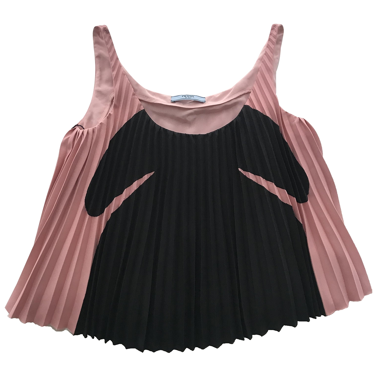 Prada \N Top in  Rosa Polyester