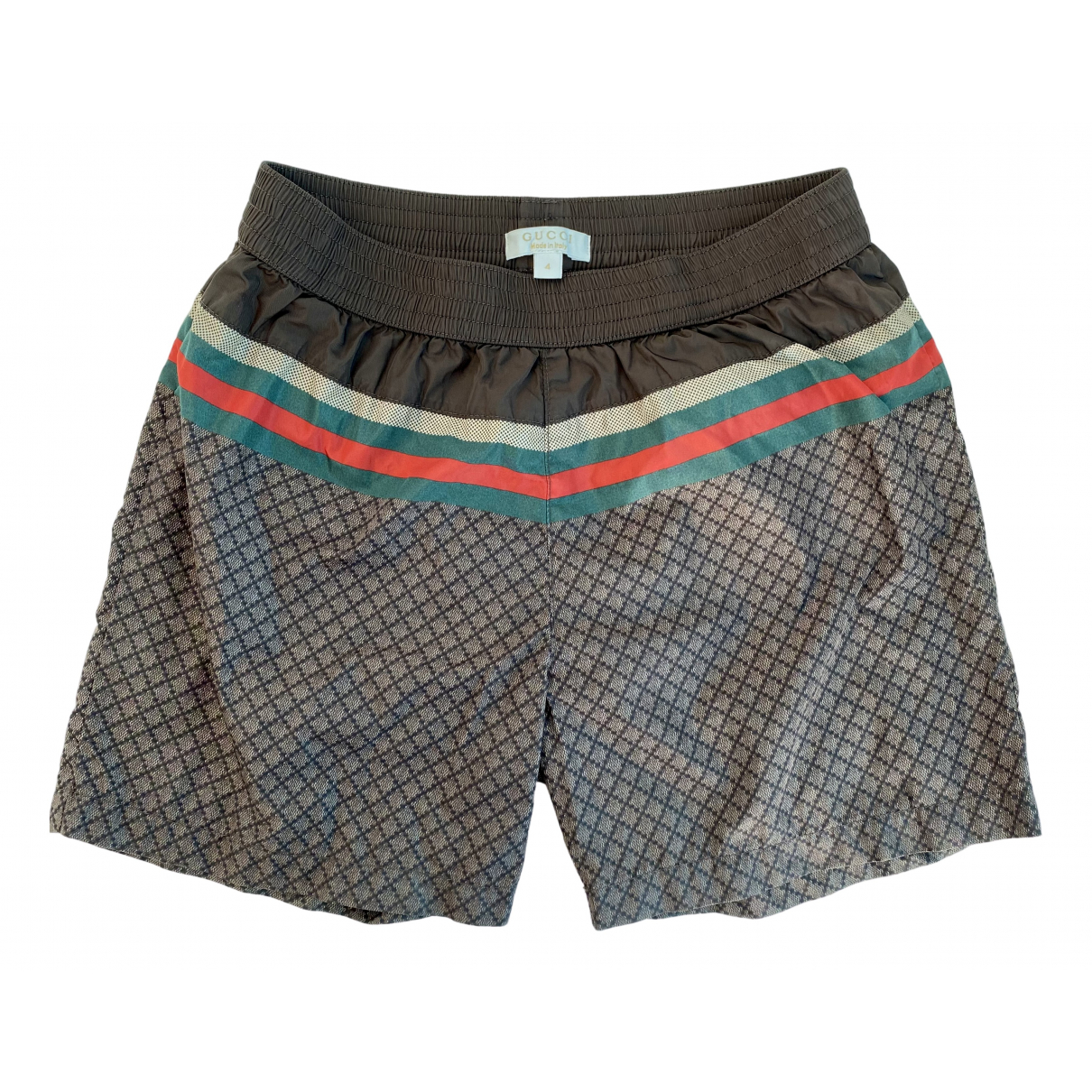 Gucci N Brown Cloth Shorts for Kids 4 years - up to 102cm FR
