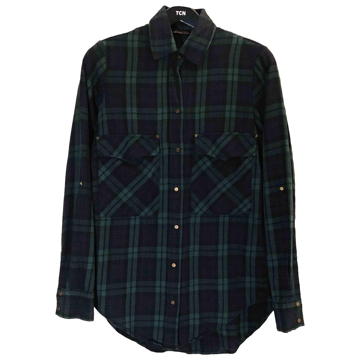 Zara \N Green Cotton  top for Women XS International