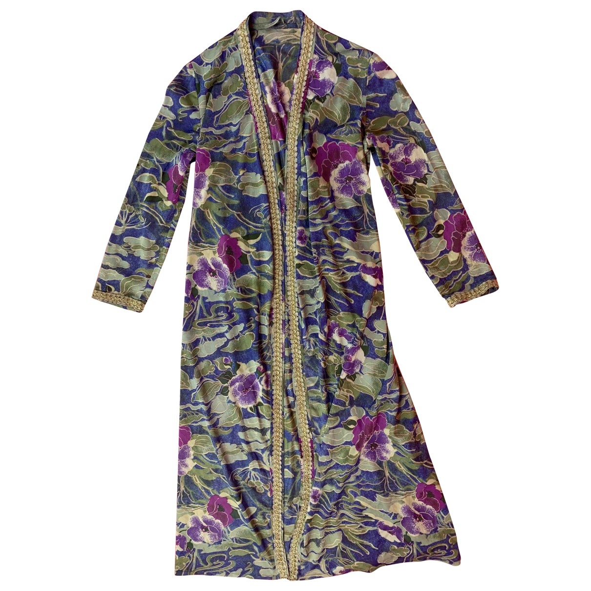 Non Signe / Unsigned Hippie Chic Jacke in  Bunt Synthetik