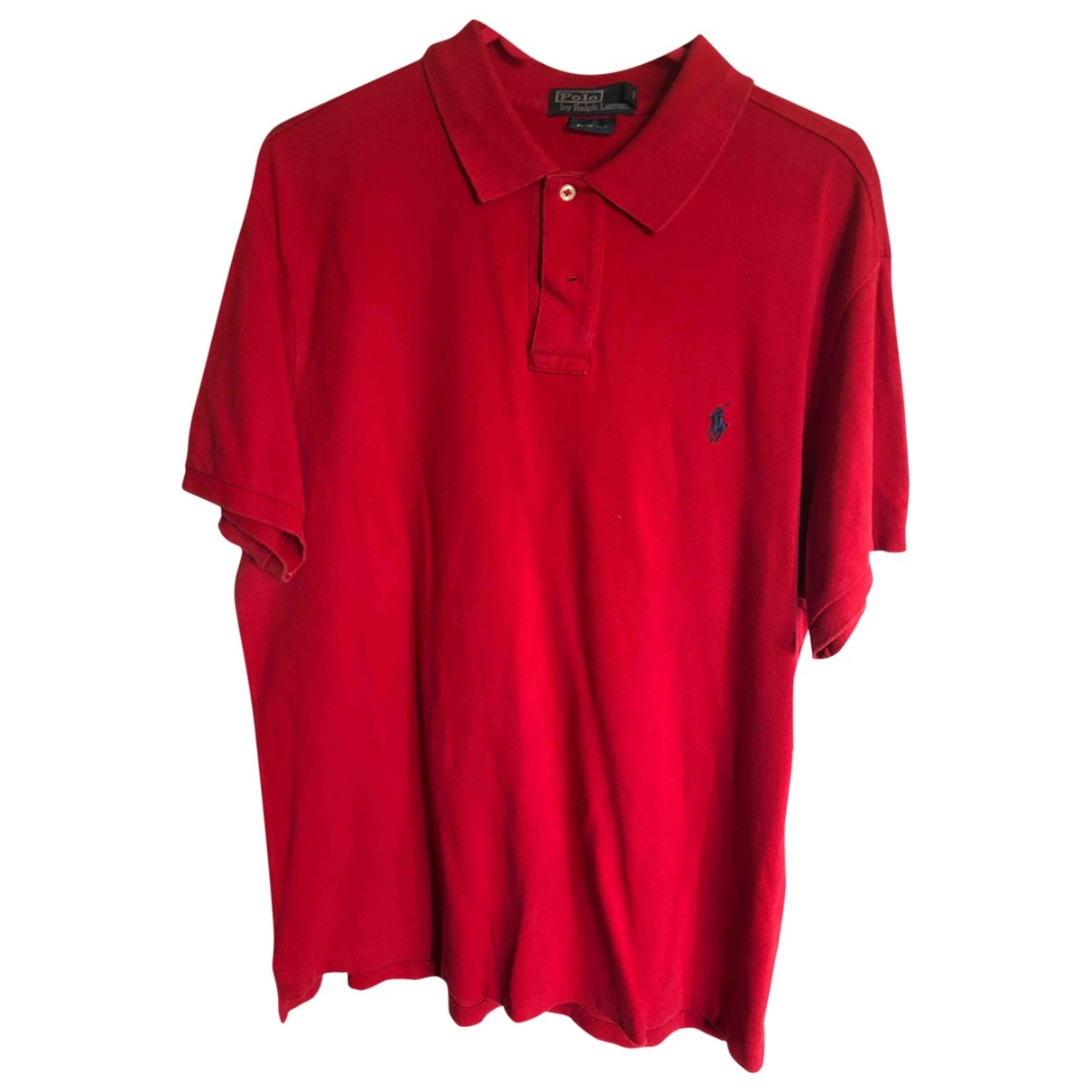 Polo Ralph Lauren \N Red Cotton Polo shirts for Men XL International