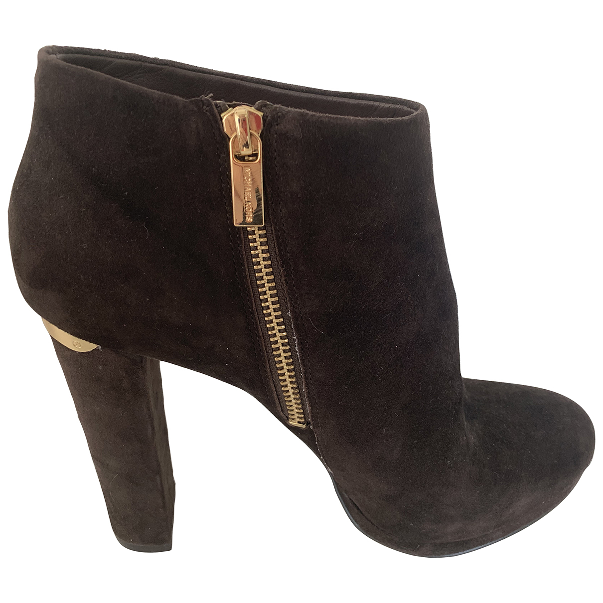Michael Kors \N Brown Suede Boots for Women 9.5 US