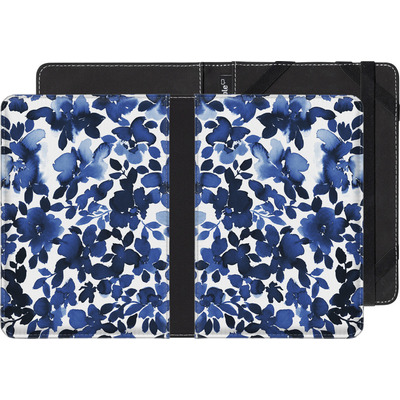tolino shine 2 HD eBook Reader Huelle - Sophia Blue Floral von Amy Sia