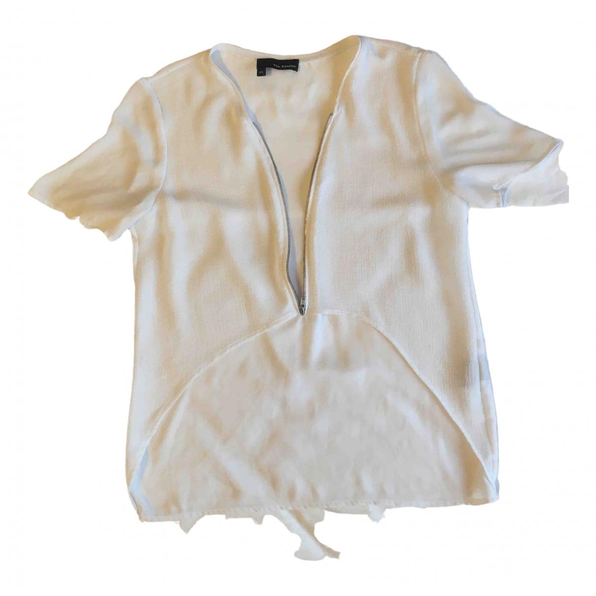 The Kooples - Top   pour femme - blanc