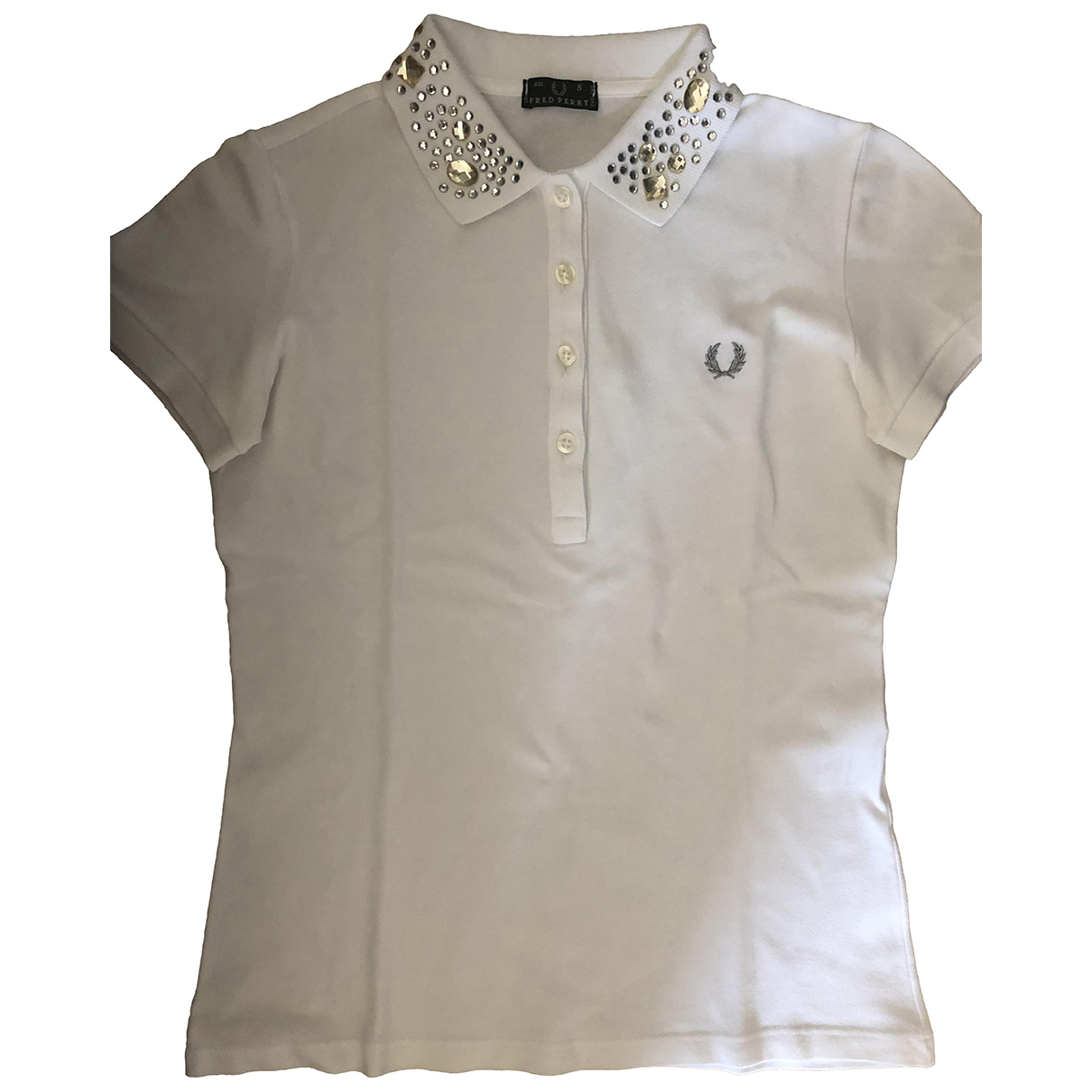 Fred Perry \N White Cotton  top for Women S International