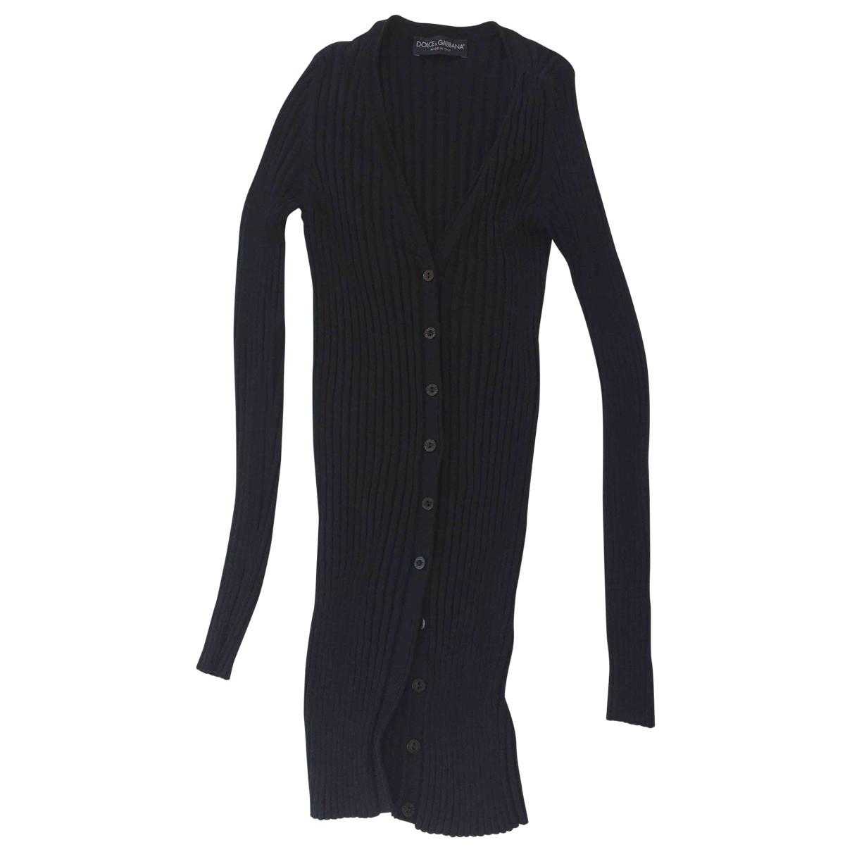 Dolce & Gabbana \N Black Cotton Knitwear for Women 36 IT