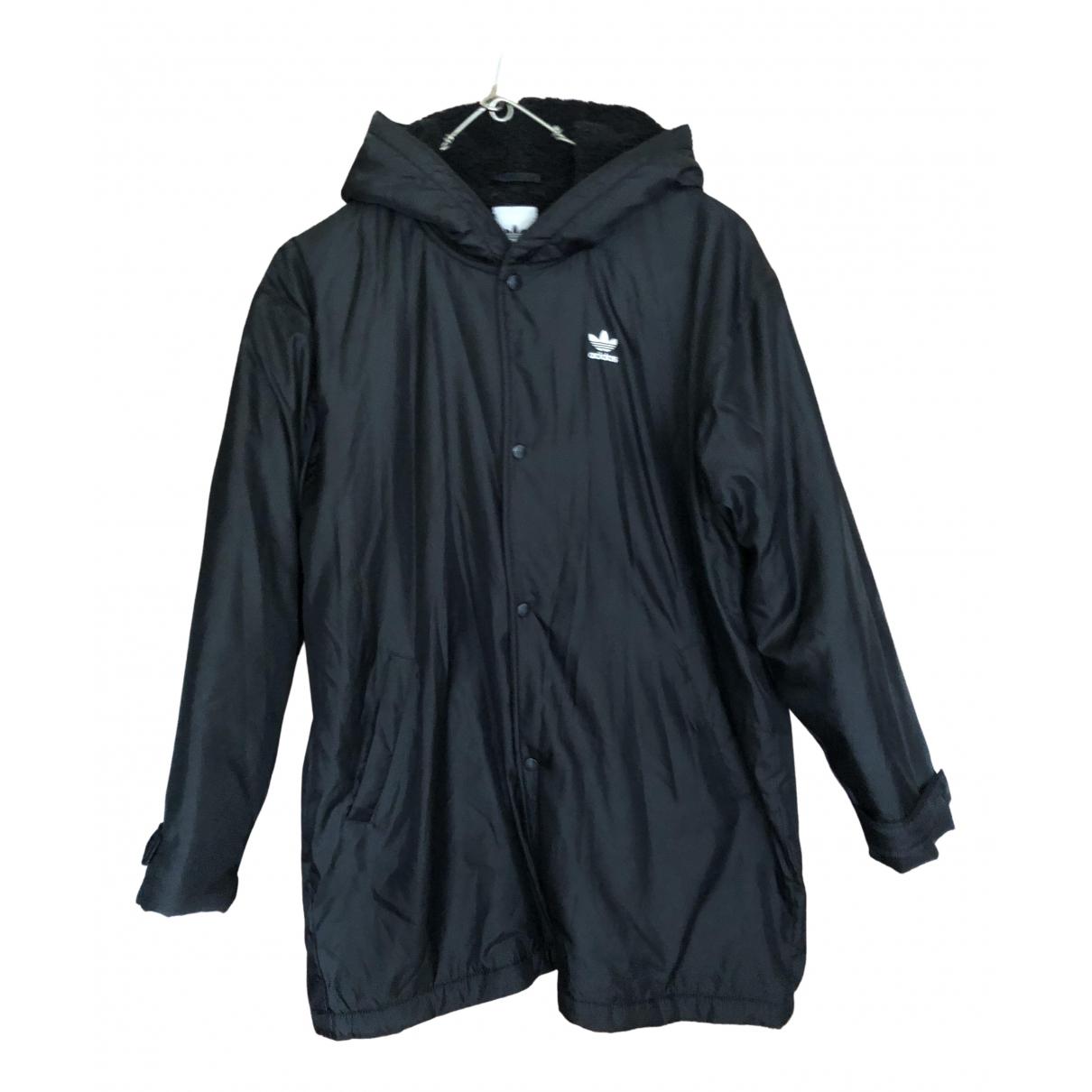 Adidas N Black coat for Women 14 UK