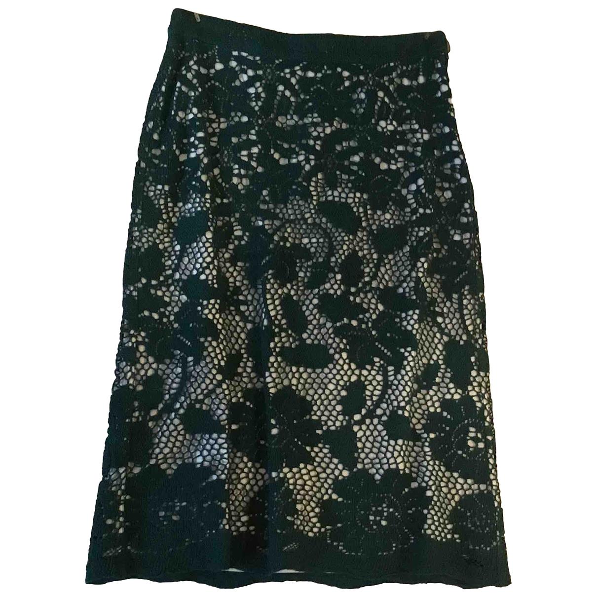 Clements Ribeiro \N Green Cotton skirt for Women 42 IT