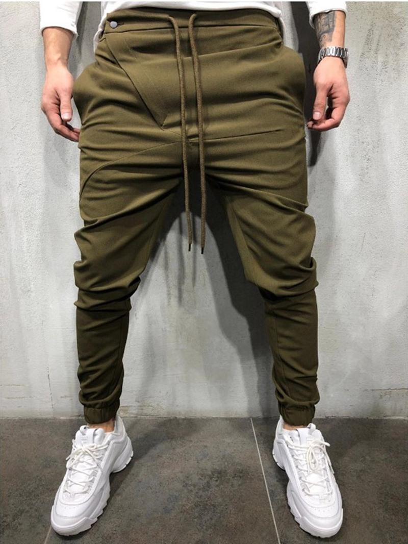 Ericdress Casual Mens Slim Pants