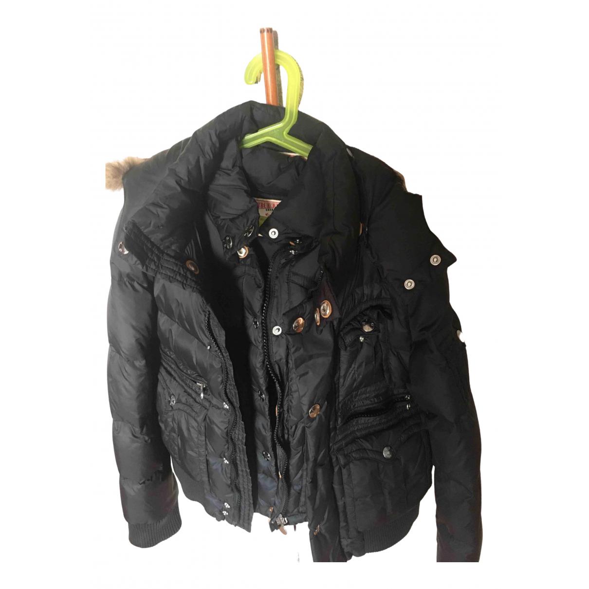 True Religion - Blousons.Manteaux   pour enfant - noir