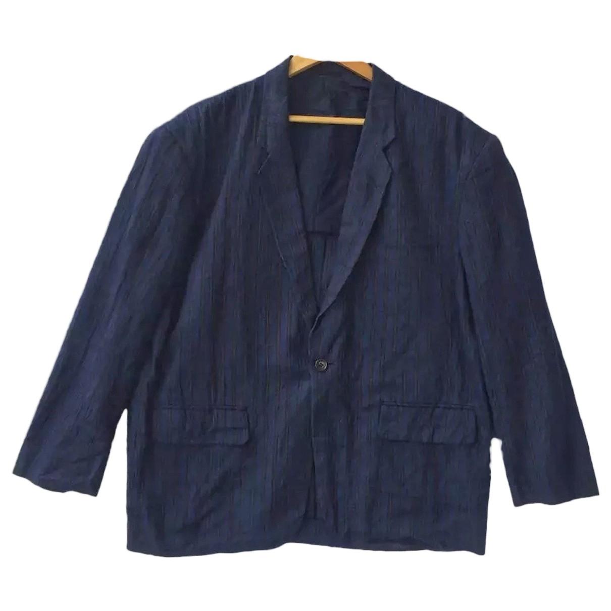 Comme Des Garcons \N Navy Cotton jacket  for Men M International