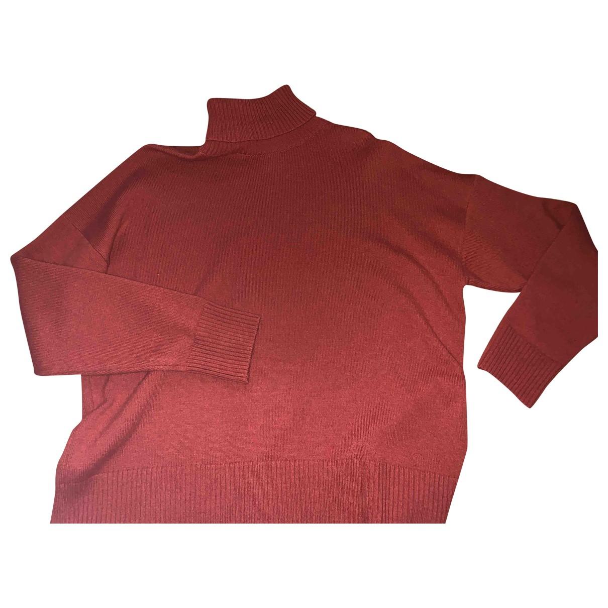 Ami - Pulls.Gilets.Sweats   pour homme en laine - rouge