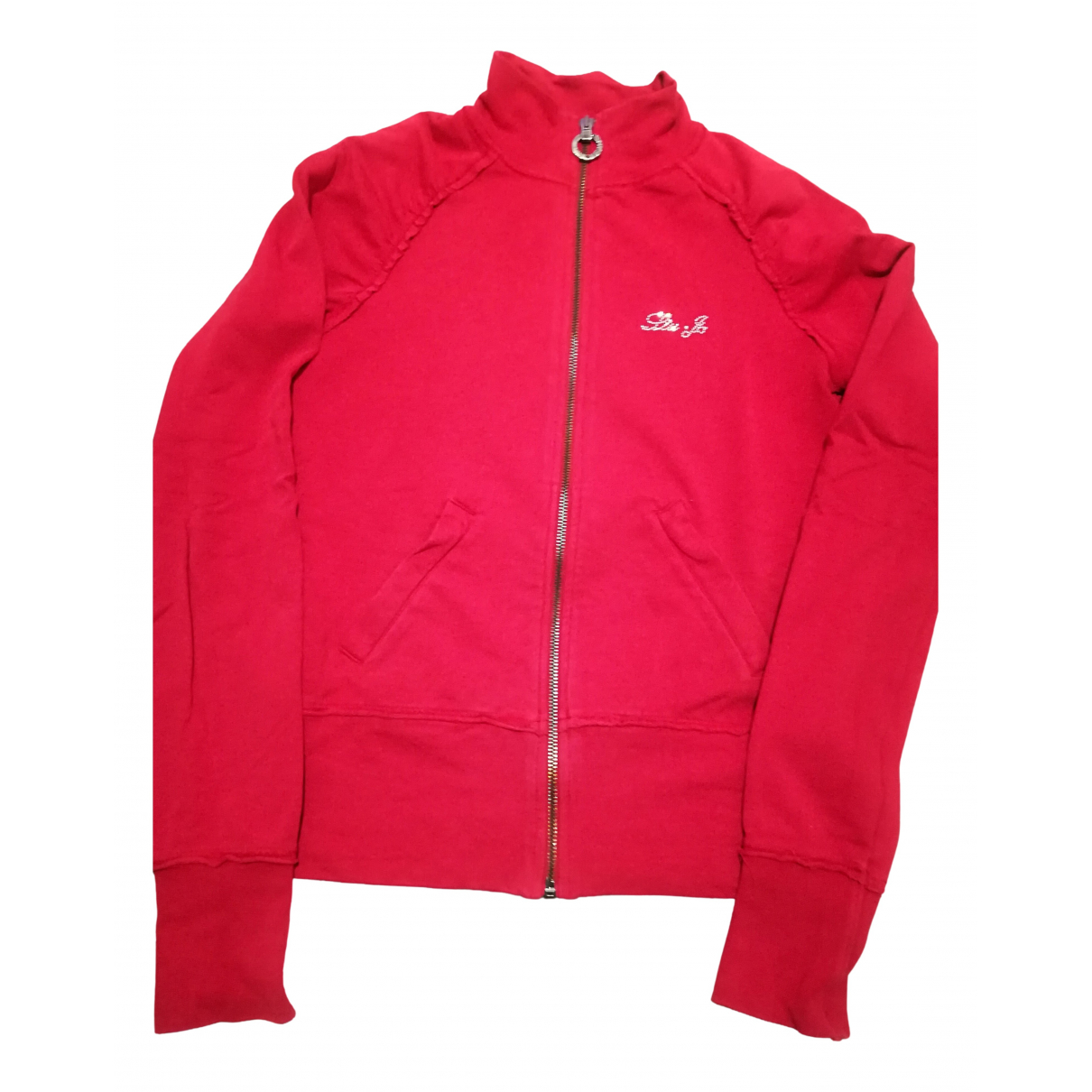 Liu.jo - Pull   pour femme en coton - rouge