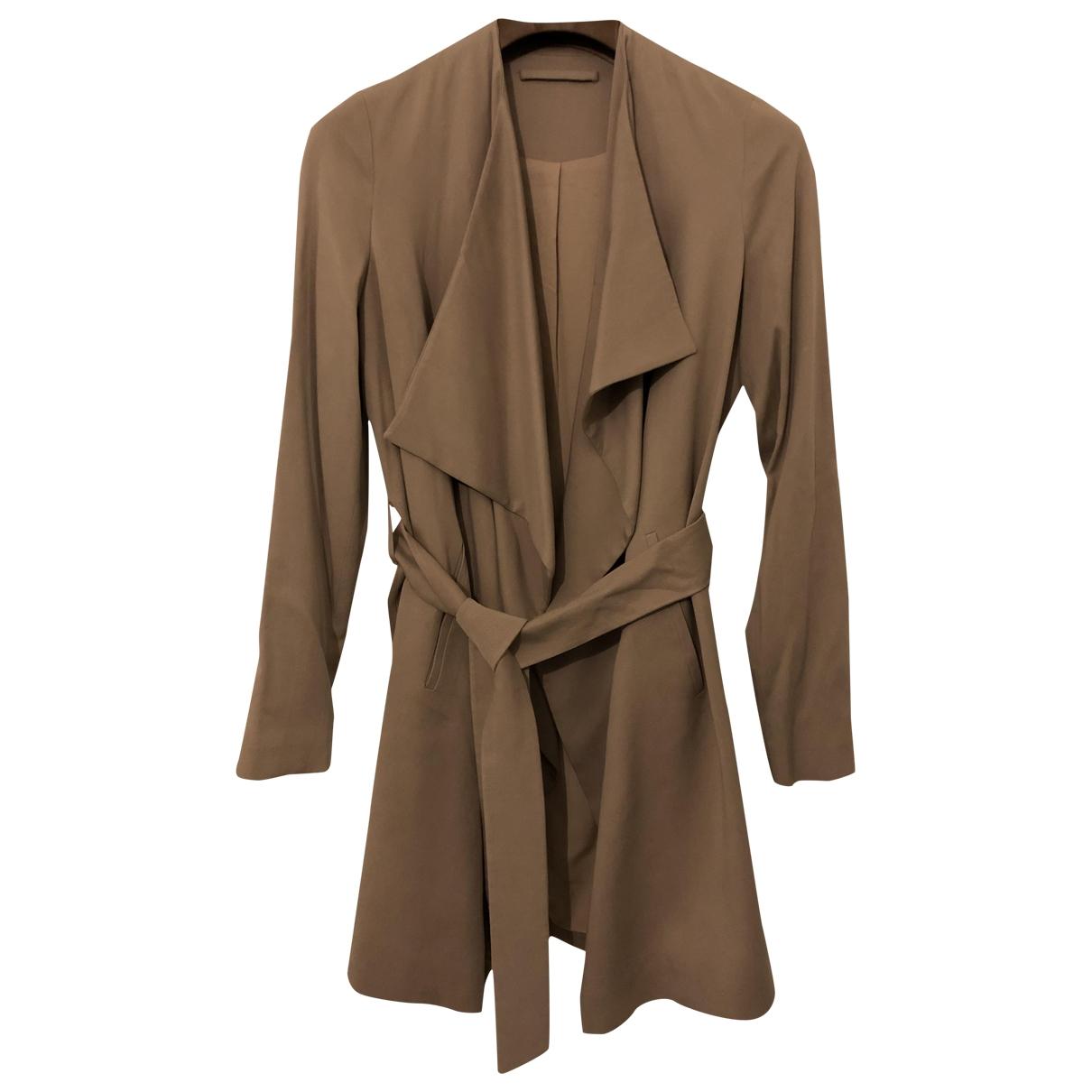 All Saints - Manteau   pour femme en coton - beige