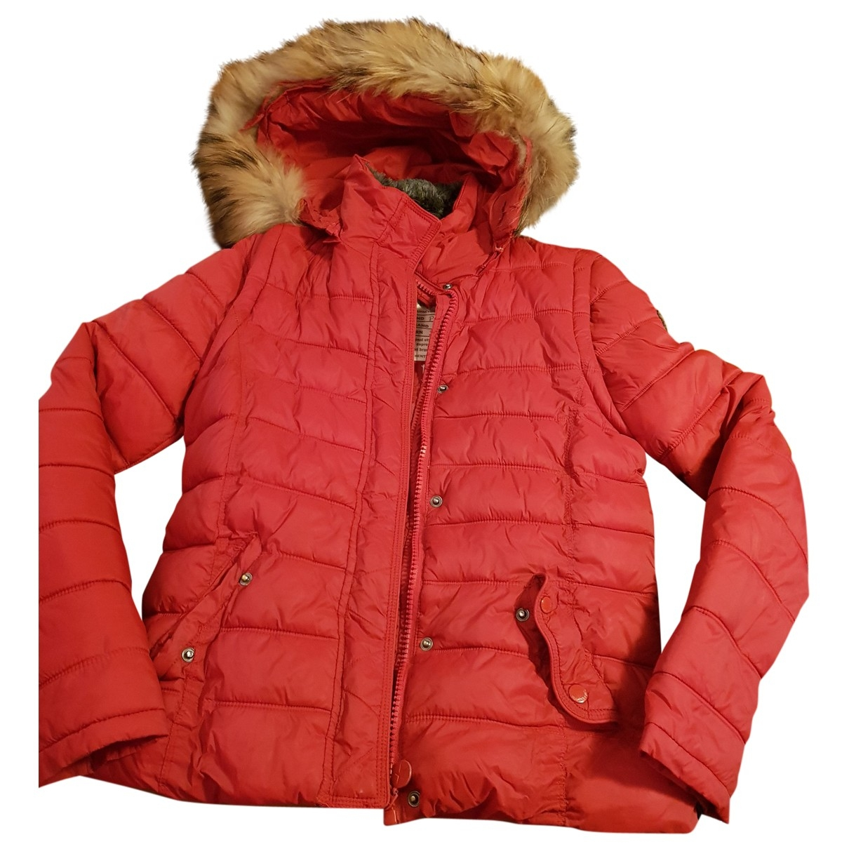 Sud Express \N Red coat for Women 34 FR
