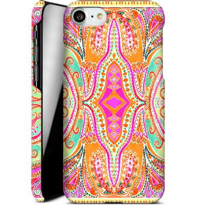 Apple iPhone 7 Smartphone Huelle - Paisley Pink von Amy Sia