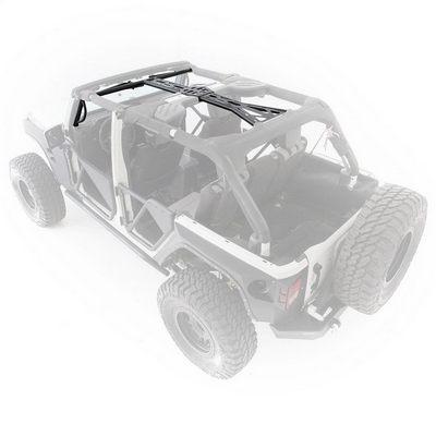 Smittybilt SRC Roll Cage Kit, 11-18 4-Door JK Wrangler, 6-Piece - 76904