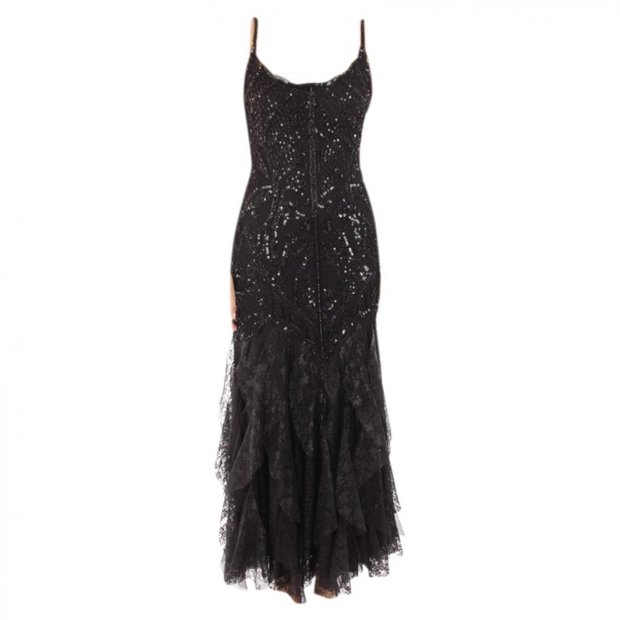 Autre Marque \N Kleid in  Schwarz Polyester
