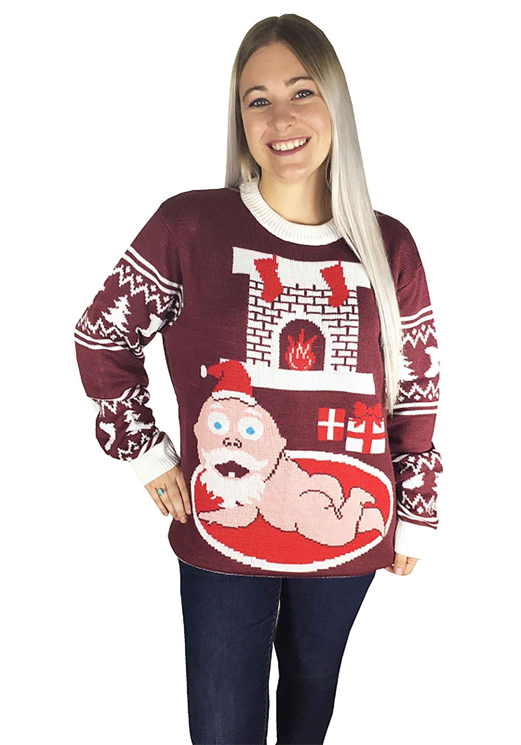 Christmas Santa Baby Ugly Sweater
