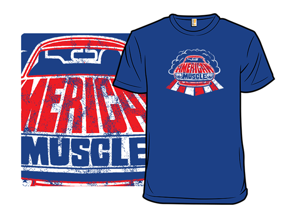 Classic American Muscle T Shirt