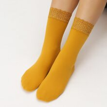 Plain Warm Socks