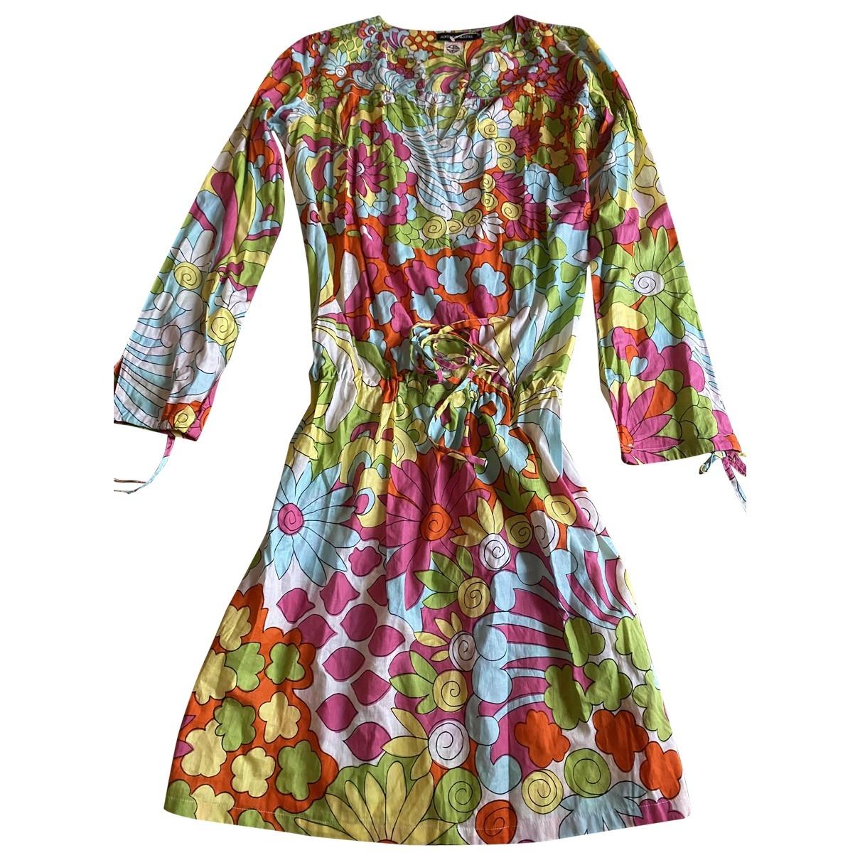 Antik Batik \N Kleid in  Bunt Baumwolle