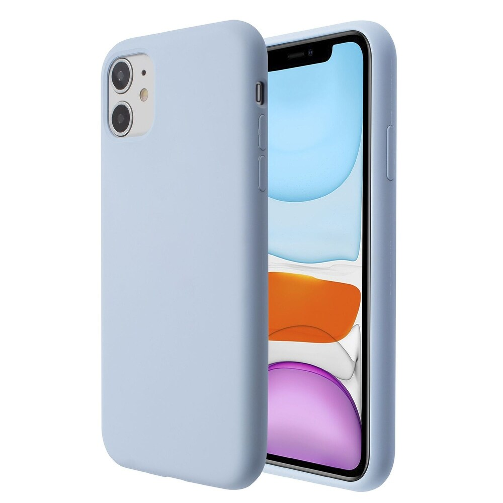 Liquid Silicone Soft Touch Case Cover For iPhone 11 (6.1