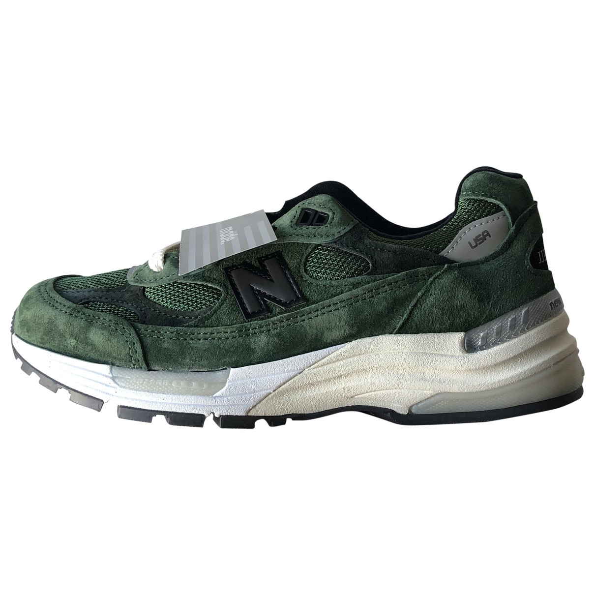 New Balance \N Green Suede Trainers for Women 38.5 EU